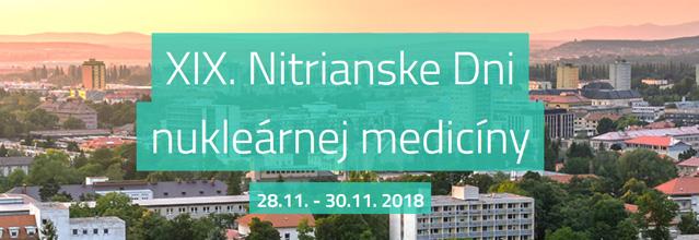 XIX. Nitrianske Dni nukleárnej medicíny - prihlásenie